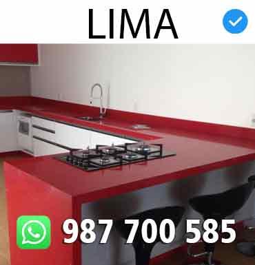 Lima Instalacion Marmol Cocinas Peru