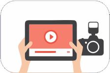 Servicio profesional de edición de videos y fotografía