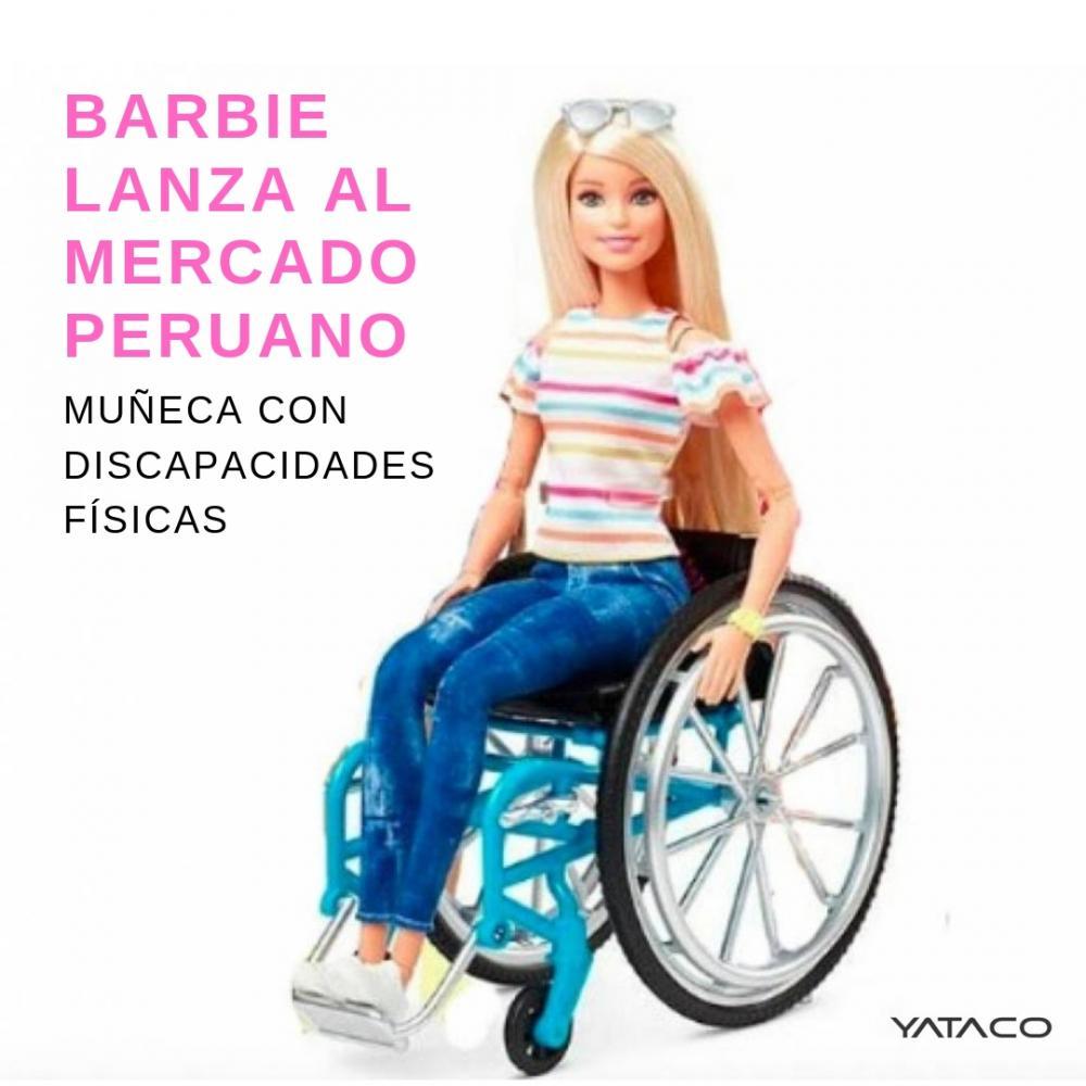 Barbie lanza al mercado peruano muñeca con discapacidades físicas