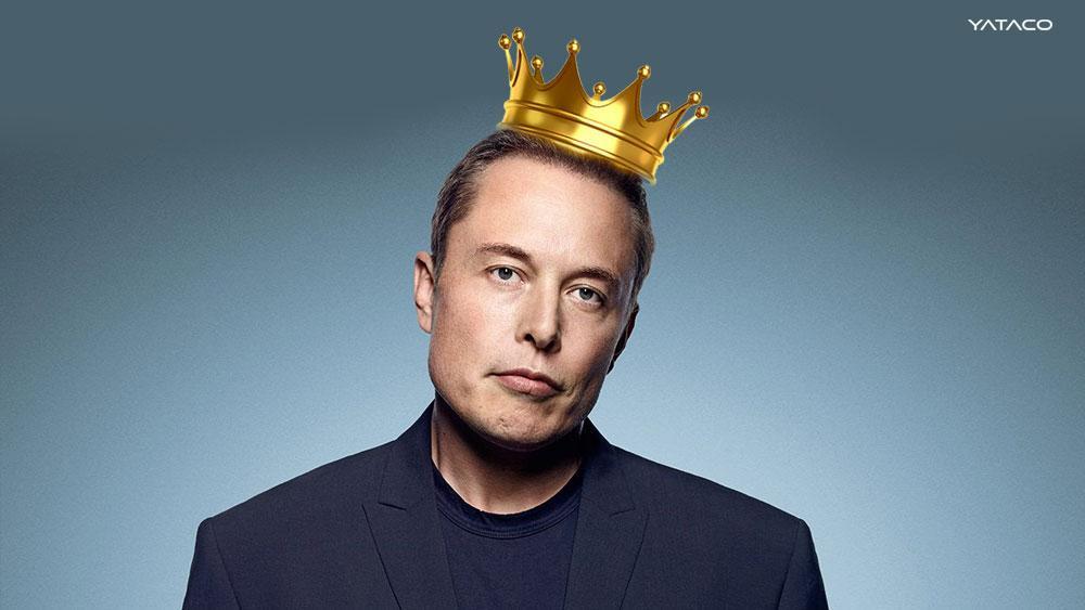 Elon Musk se proclama Technoking, Rey de la Tecnología