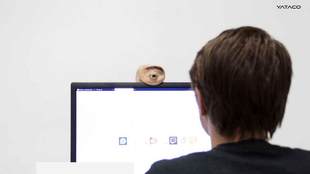 Eyecam, una webcam que parece un ojo humano