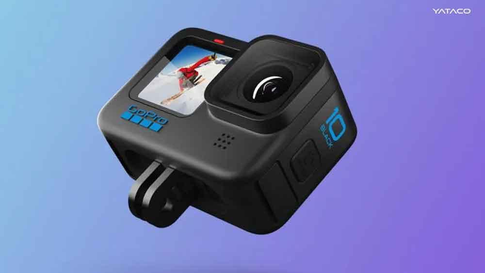 GoPro Hero 10 Black graba con resolución 5.3K