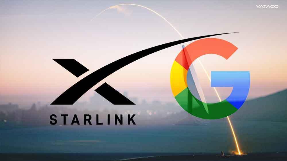 Google Cloud dará soporte a SpaceX para su internet satelital