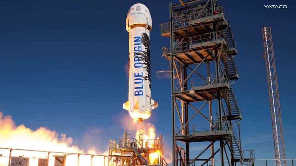 El primer vuelo tripulado de Blue Origin dirigido por Jeff Bezos
