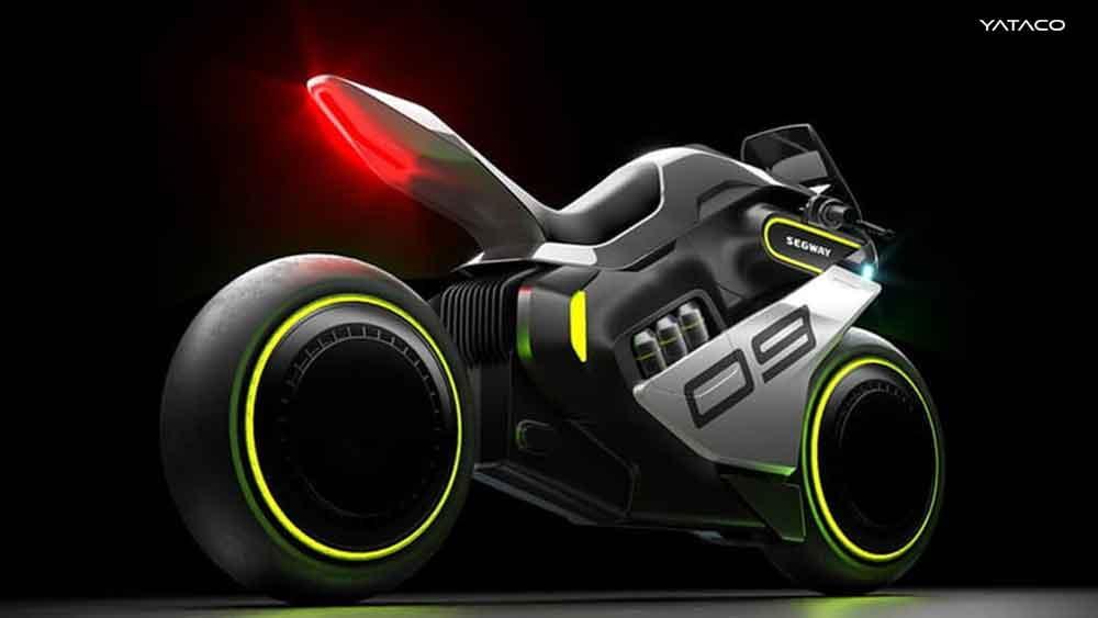 La motocicleta de hidrógeno Apex H2 de Segway