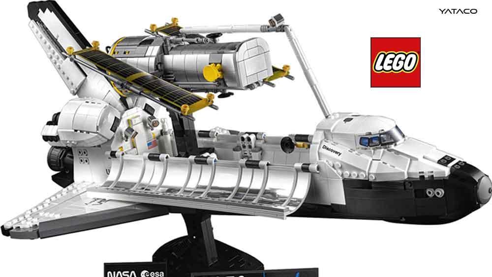 Lego celebra el 40 aniversario del primer lanzamiento de un transbordador espacial
