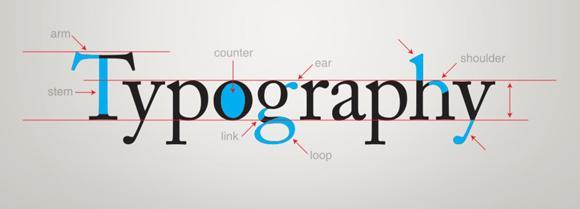 4 tips del uso del color en la tipografía