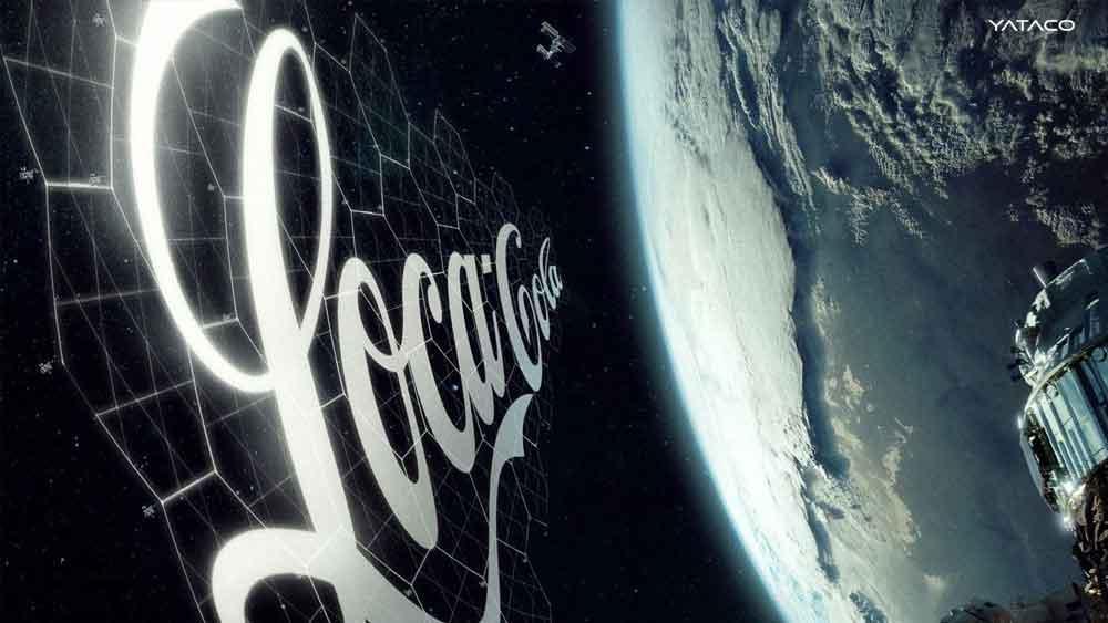 SpaceX lanzará el primer proyecto de publicidad espacial