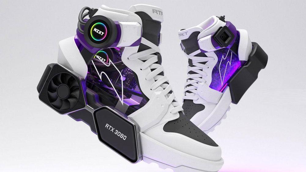 Zapatillas realmente una PC con una RTX 3080 o un adorno superfriki
